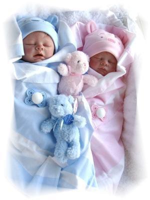 Двойняшки и близнецы